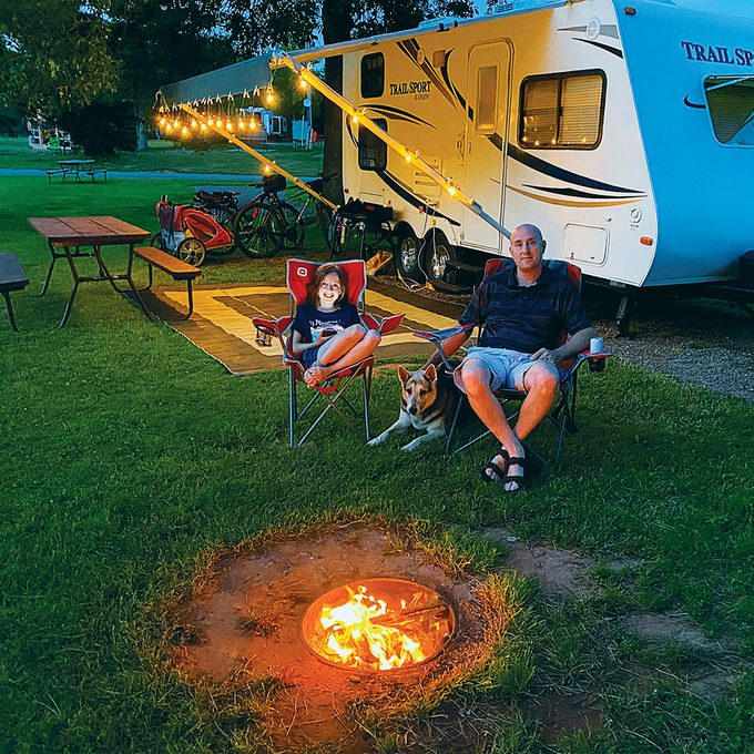 Atlantic Canada Travel - Family camping
