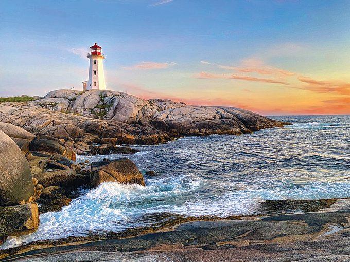 Atlantic Canada Travel - Peggy's Cove Lighthouse