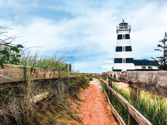 Atlantic Canada Travel - West Point Lighthouse in PEI