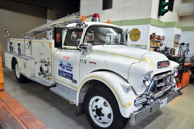 BC Vintage Truck Museum - 1955 Fire Truck