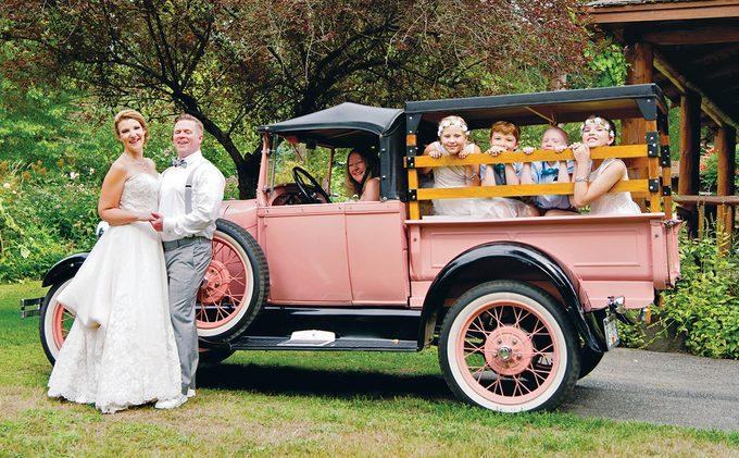 BC Vintage Truck Museum - Wedding