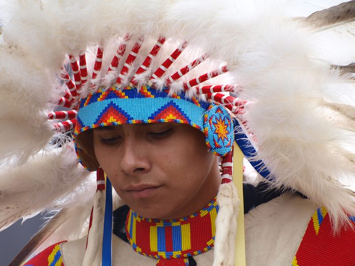 Candid photography - Indigenous dancer