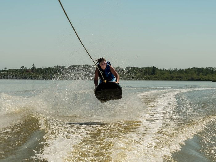 Candid photography - Wakeboarding