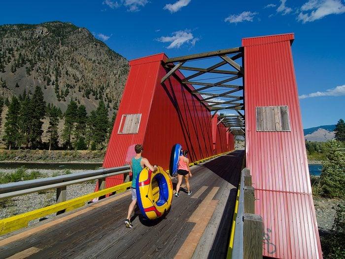 Covered Bridges - The Ashnola Bridge in Keremeos, British Columbia