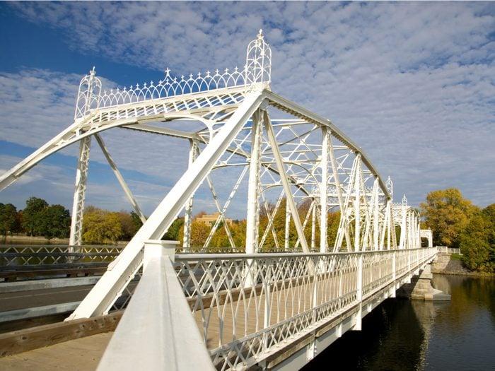 Covered Bridges - Minto Bridge in Ottawa, Ontario