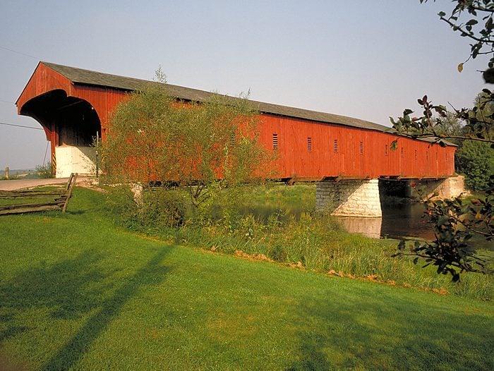 Covered Bridges - West Montrose Covered Bridge in Ontario