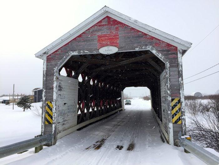 Covered Bridges - Leclerc Covered Bridge in Quebec