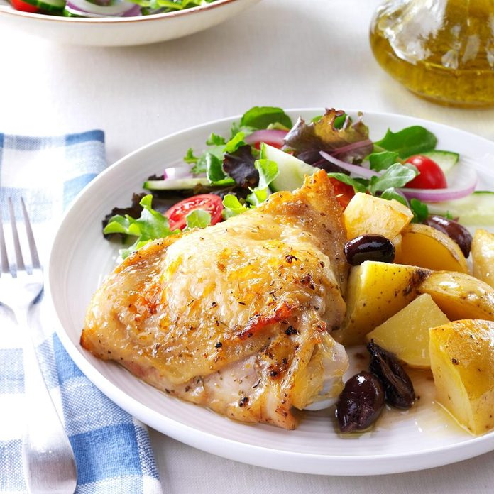 Summer Chicken Recipes - Greek-Style Lemon-Garlic Chicken