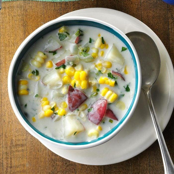 Fresh Corn & Potato Chowder