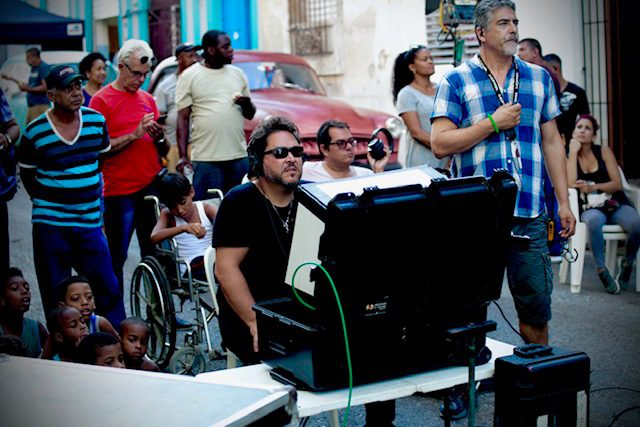 Sergio Navarretta directing
