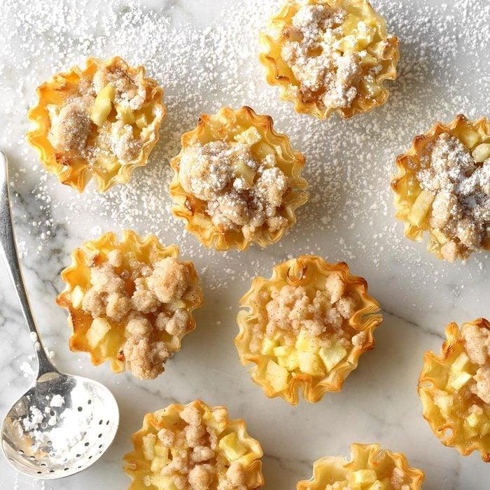 Dutch Apple Pie Tartlets recipe
