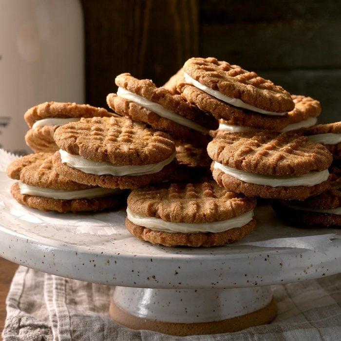 Ginger Creme Sandwich Cookies recipe