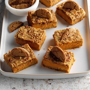 Gingersnap-Pumpkin Dessert
