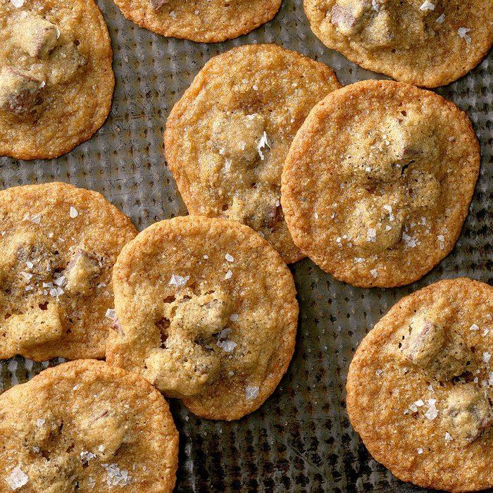 Salted Brown Sugar and Rye Chocolate Chip Cookies recipe