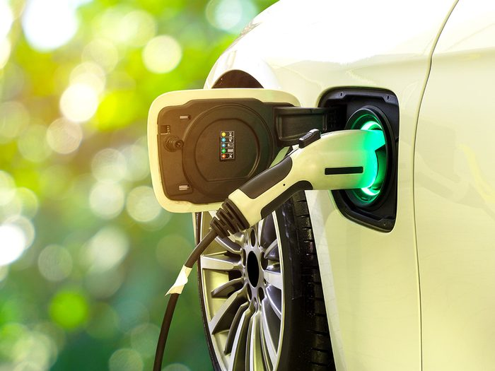 Canada electric vehicle - Electric car charging