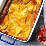 Peachy Dutch Pancake