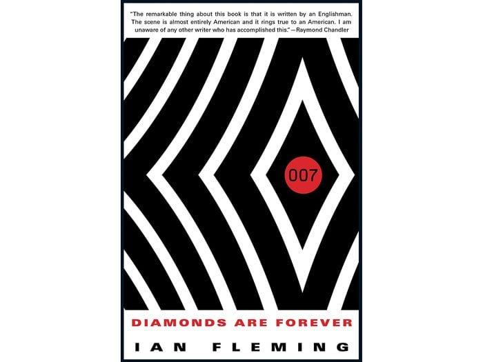 James Bond Books - Diamonds Are Forever