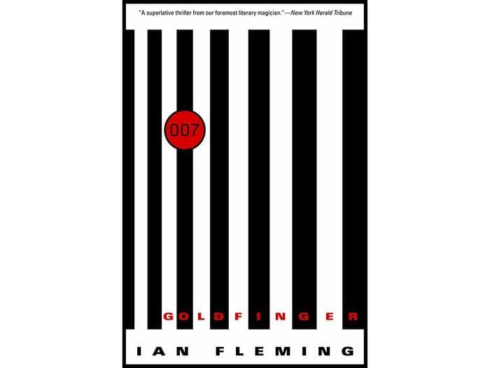 James Bond Books - Goldfinger