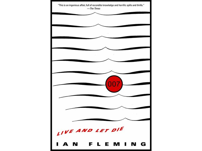 James Bond Books - Live And Let Die