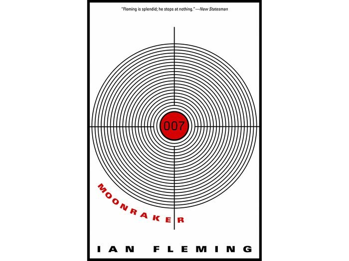 James Bond Books - Moonraker