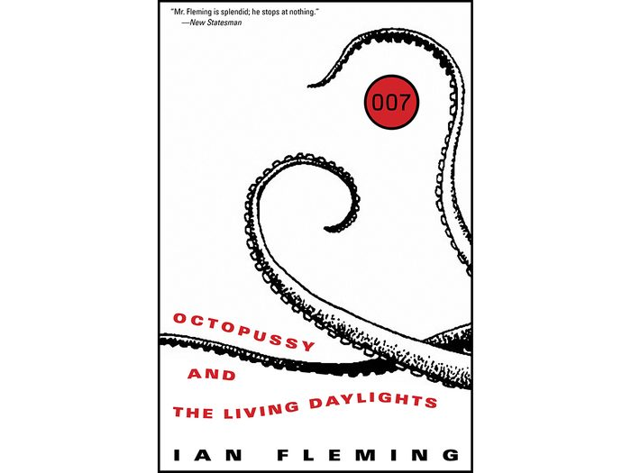 James Bond Books - Octopussy and The Living Daylights