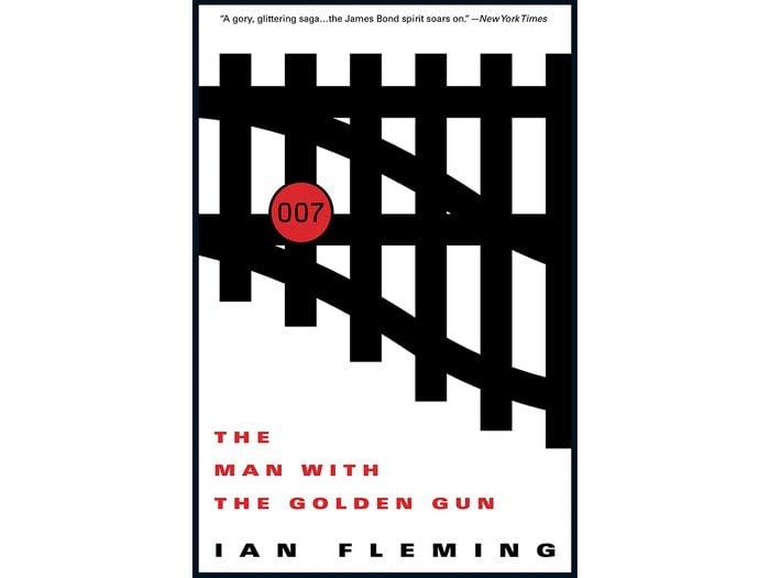 James Bond Books - The Man With The Golden Gun