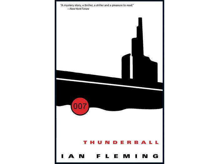 James Bond Books - Thunderball