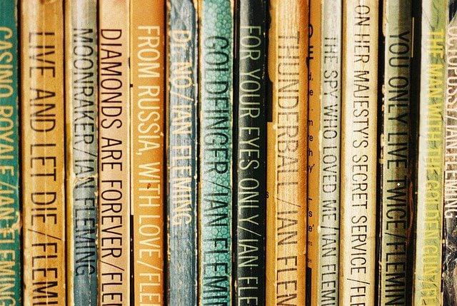 James Bond Books - Vintage