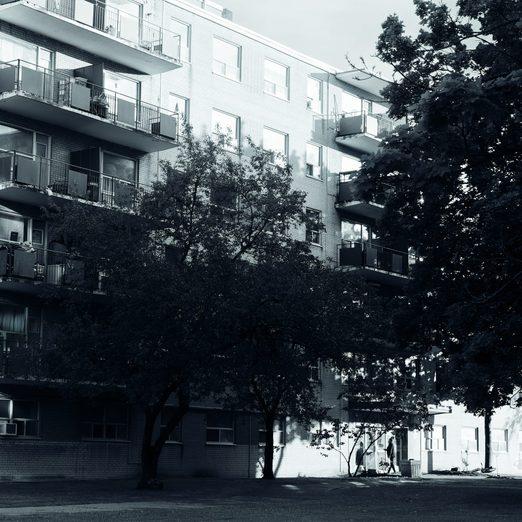 Pandemic eviction crisis - Toronto apartment building