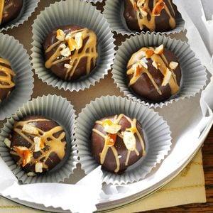 Chocolate-Covered Peanut Butter & Pretzel Truffles