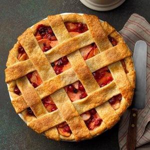 Cranberry-Apple Lattice Pie