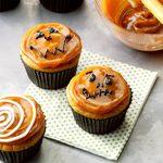 Pumpkin Caramel Cupcakes