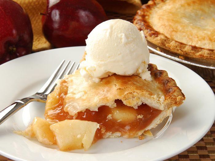 Apple pie trail - Apple pie and ice cream