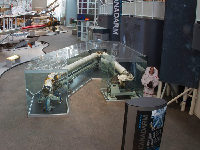 Canadian museums artefacts - Canadarm