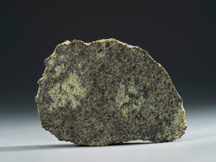 Canadian museums artefacts - Martian meteorite ROM