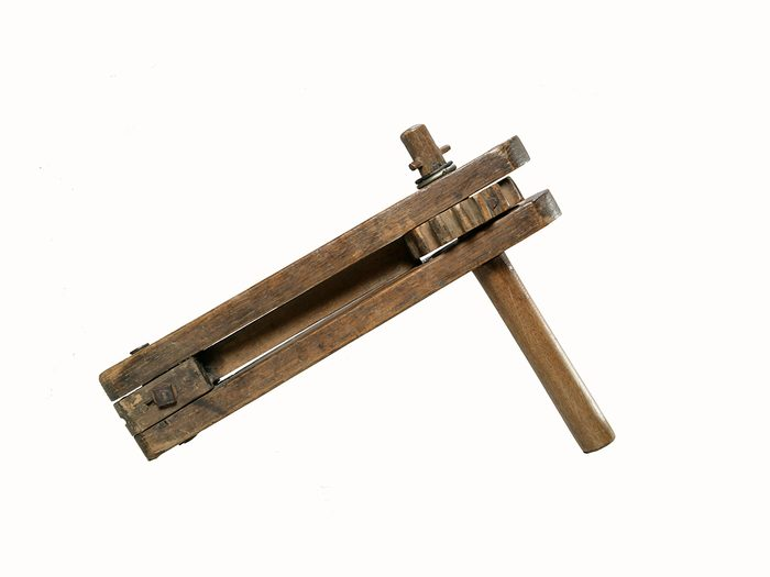 Canadian museums artefacts - WWI rattle