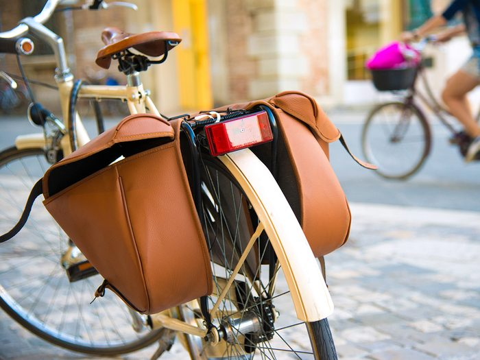 How to buy a bike - Bicycle accessories like panniers, lights and mudguards