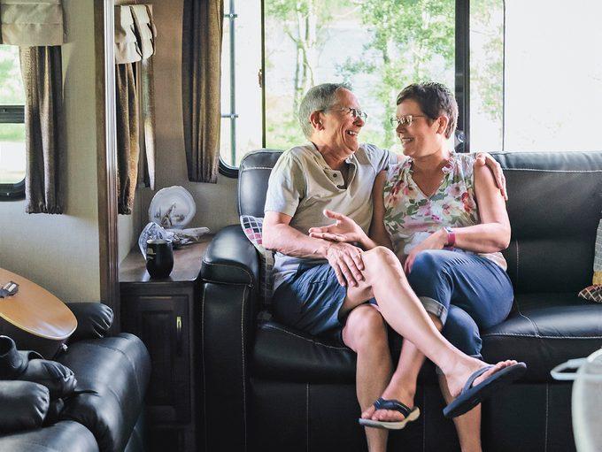 RV living - Darrel and Brenda Frisken